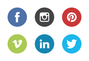 School's out - social media icons