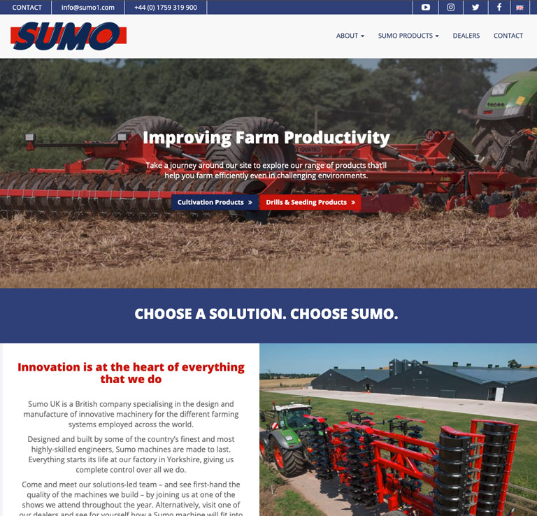 Sumo UK Website