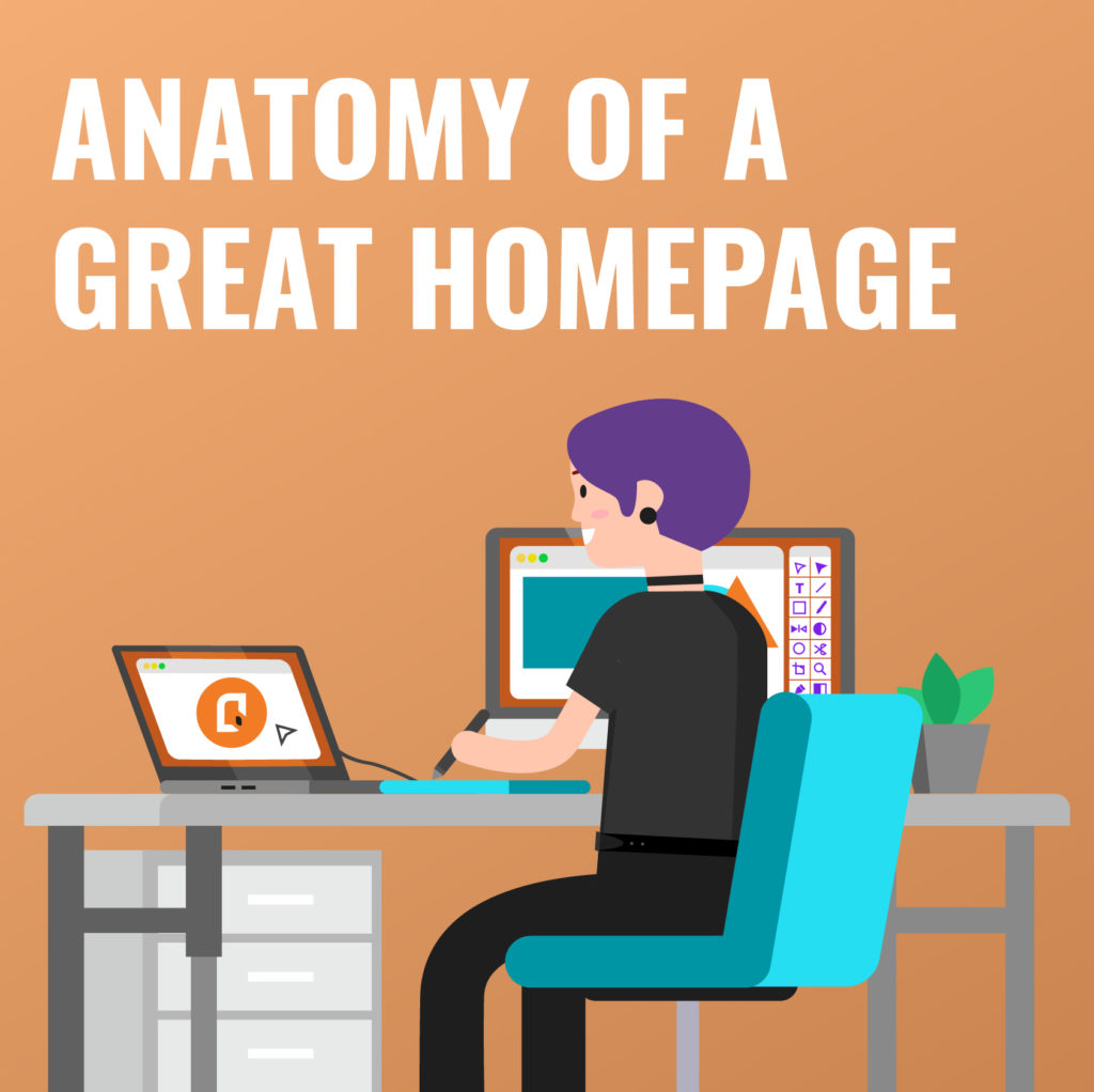 Anatomy of a great homepage